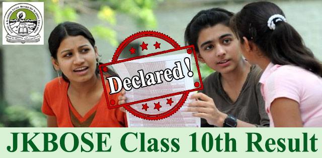 JKBOSE 2018 Class 10th Annual Jammu Region Result Declared, Check Now @ jkbose.jk.gov.in