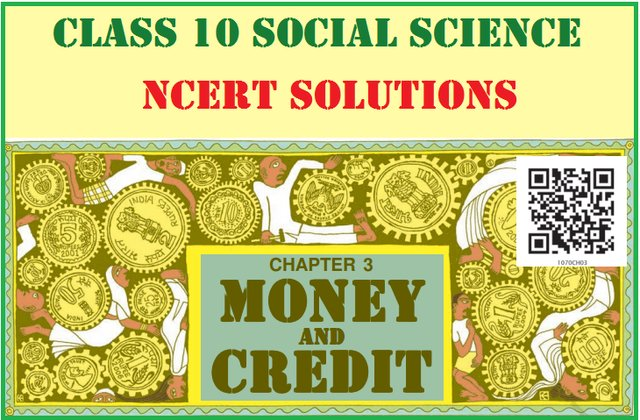 NCERT Solutions for Class 10 Social Science Economics Chapter 3
