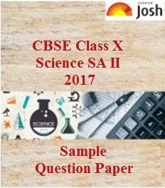 class 10 science sample paper, cbse sample paper, class 10 model test papers