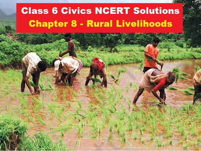 NCERT Solutions for Class 6 Social Science Civics Chapter 8
