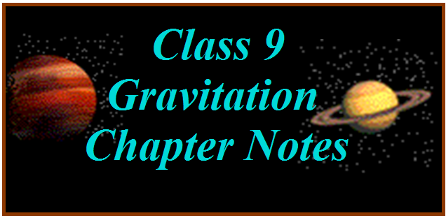 Class 9 Science Chapter Notes