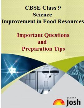 class 9 science important questions, class 9 important questions, class 9 improvement in food resources