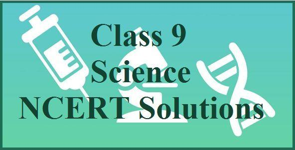 NCERT Solutions for Class 9 Science PDF 2019-2020