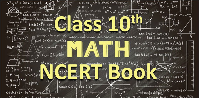 NCERT Class 10 Maths Book 2019-2020: Download latest NCERT