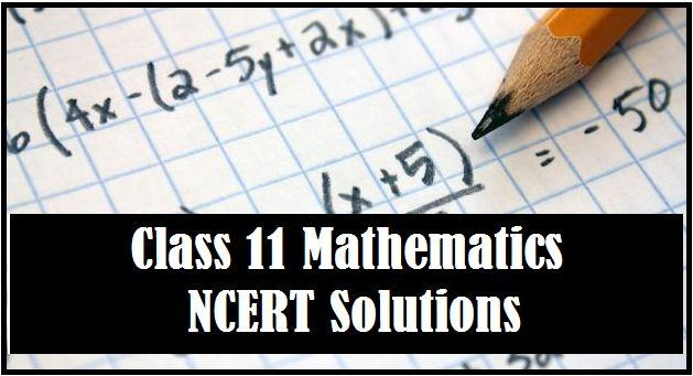 Class 11 Maths NCERT Solutions
