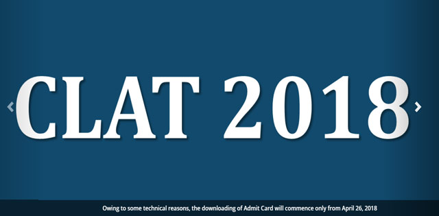 CLAT 2018 Admit Card Delayed, Expected To Release On April 26