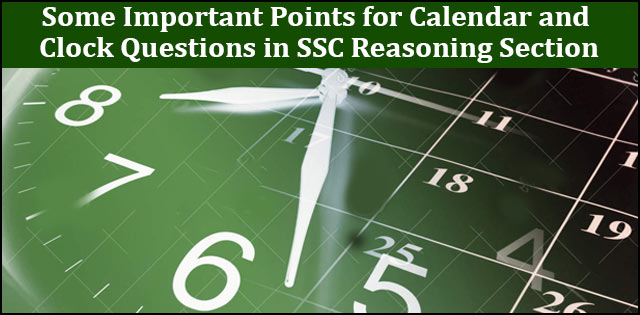 SSC Clock and calendar tips