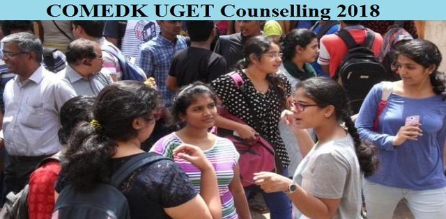 COMEDK UGET Counselling 2018