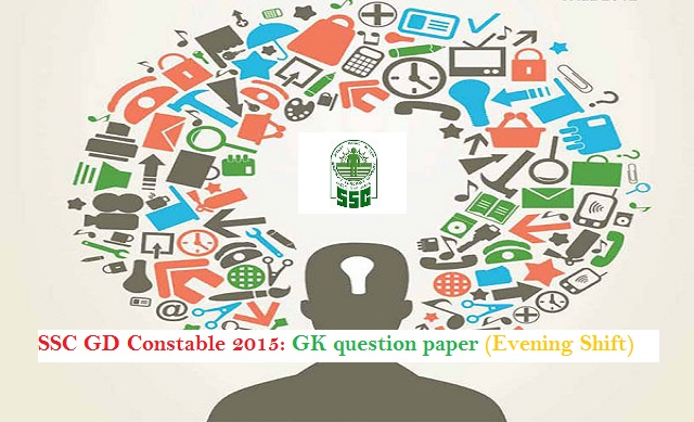 ssc constable GK paper