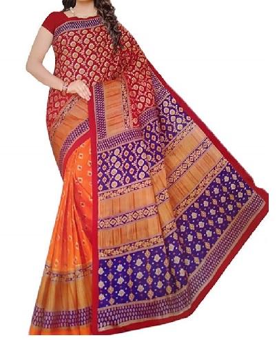 Sharee Kurti Women Cotton Saree