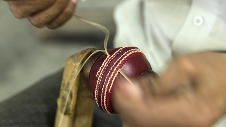 cricket balls sewing meerut