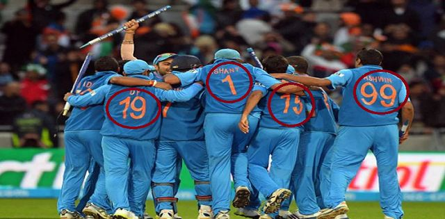 How The Jersey Number Of The Cricketers Is Decided