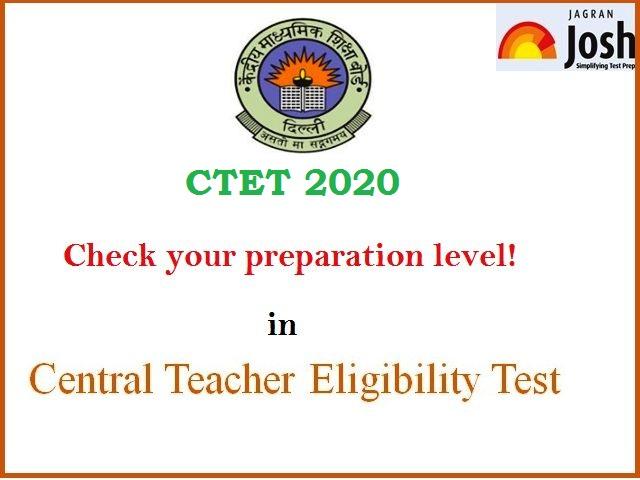 CTET Mock Test 2020