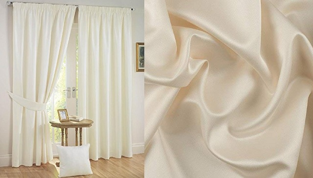 Stylish Cream color curtain