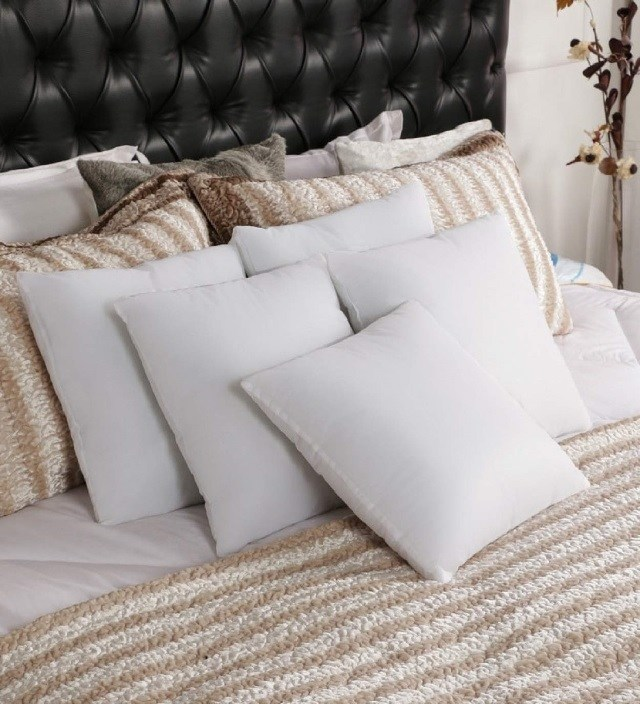 Comfortable White Cushions