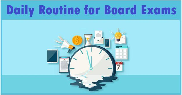 Study Routine for Board Exam Preparation