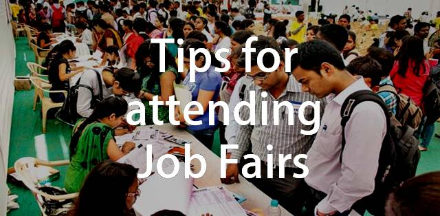 Job fair preparation tips for college students
