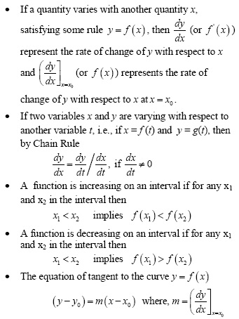 UPSEE Aplication of Derivative Concepts 1