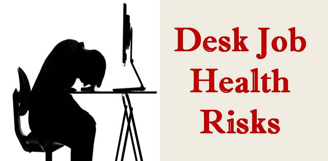 Desk job health risks
