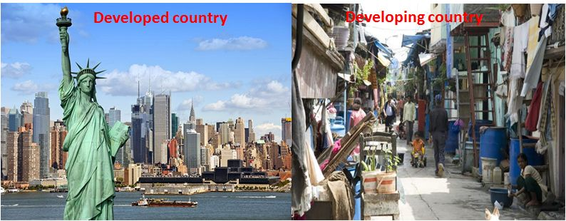 """developing country and developed country A variety of terms have been used to refer to these """"developing"""" countries these include less-developed countries, underdeveloped countries, undeveloped."""