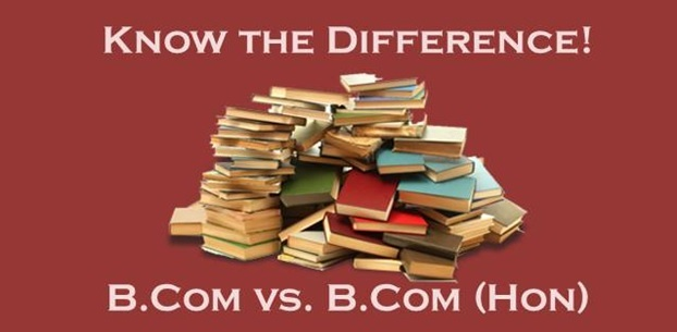 Know the difference between B.Com and B.Com (Hons.)
