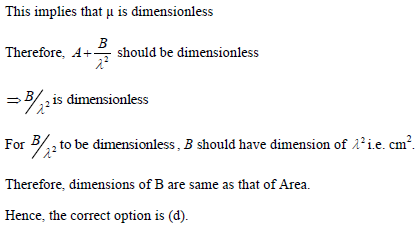 Practice questions of dimesnsions 2