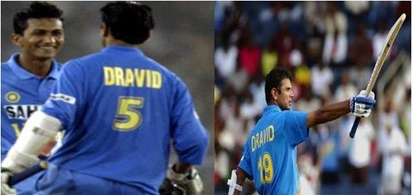 dravid jersey number 19