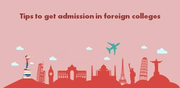how to get admission in foreign universities for mba