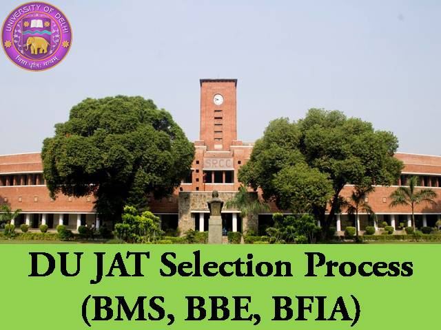 DU JAT Selection Process