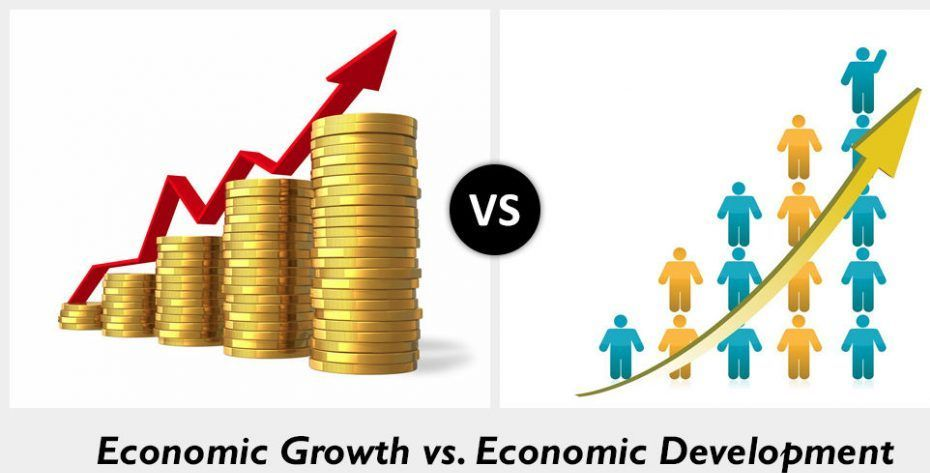 Difference between economic growth and economic development