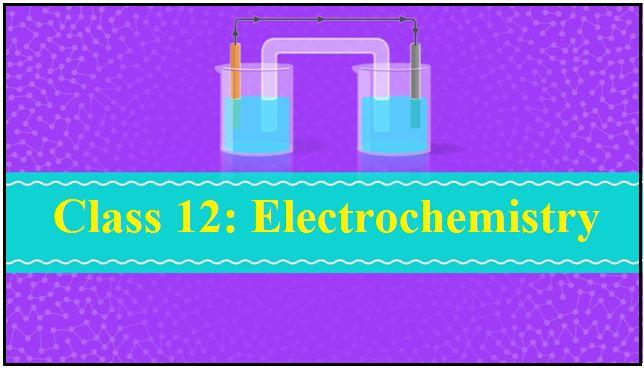 Electrochemistry Ncert Pdf