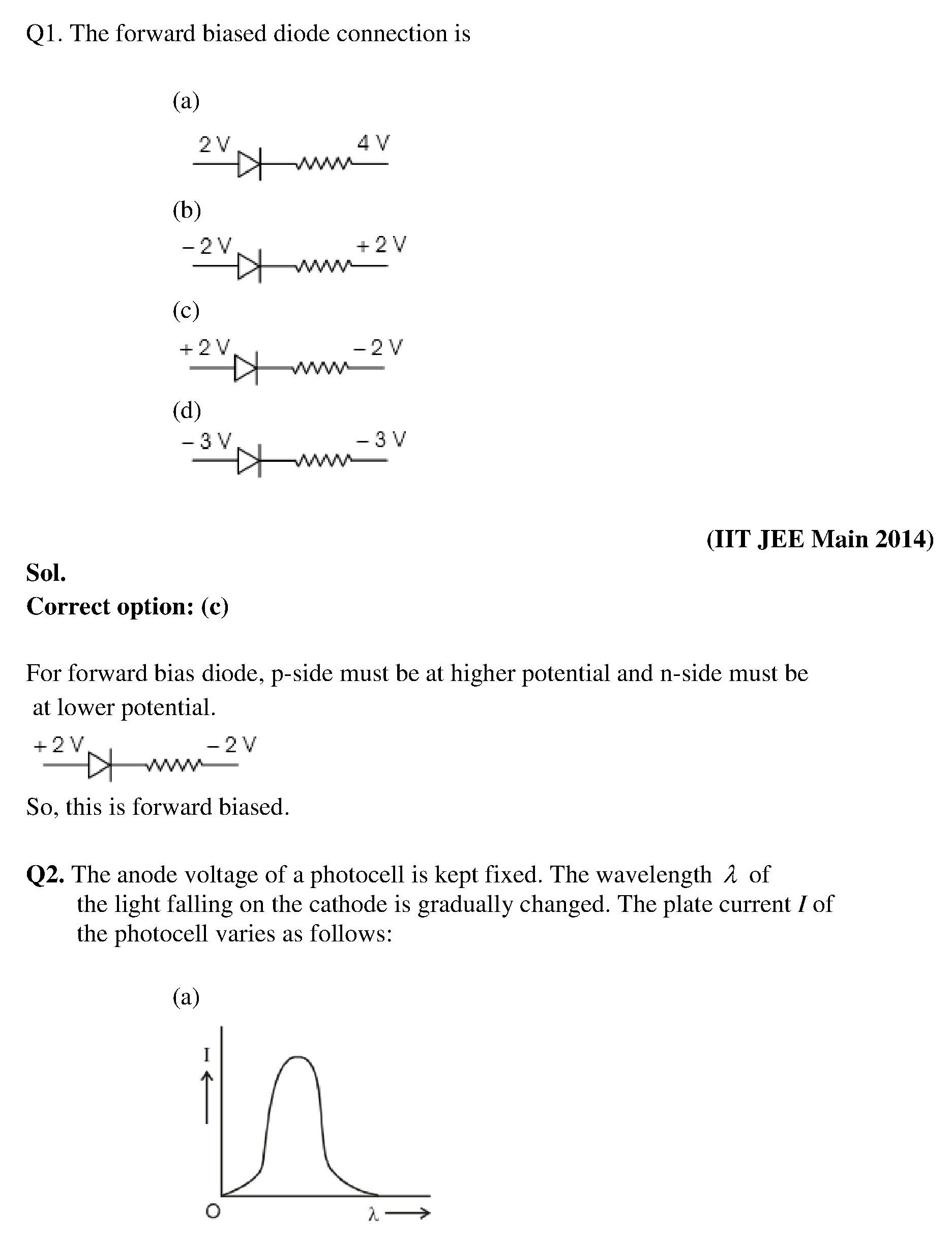 Electronic Devices Chapter Notes And Important Questions For Iit Circuits Tamil Pdf Some Previous Year Solved Are Given Below
