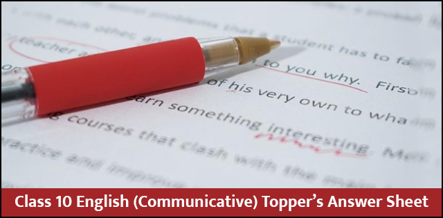 CBSE Class 10 English (Communicative)