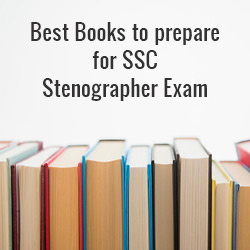 Best Books to prepare for SSC Stenographer Exam