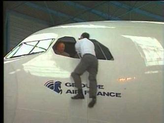 escape hatch for cabin crew