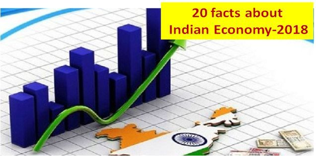 20 facts about Indian Economy 2018