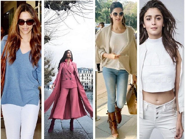 Bollywood Celebrity Winter Style