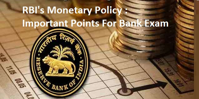 RBI's Fifth bi- monthly Monetary Policy: Important Points for Bank Exams