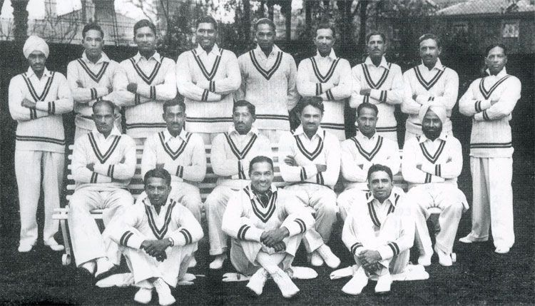 First Indian Cricket Team