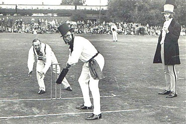 first international cricket match
