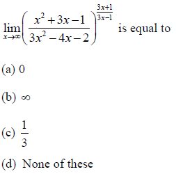 Solved questions on Limits