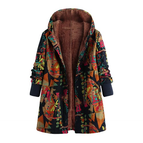 Floral Overcoat