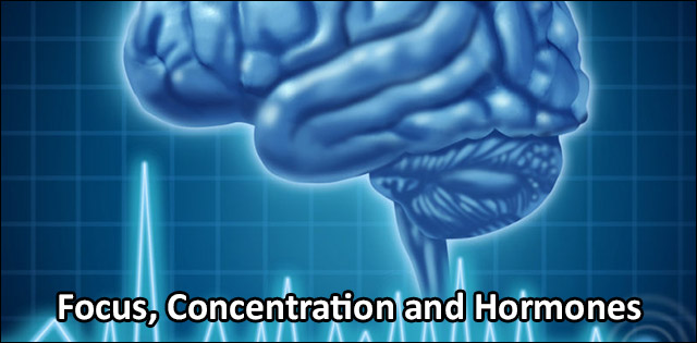 Hormones affecting the Concentration Power