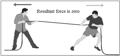 balanced forces example