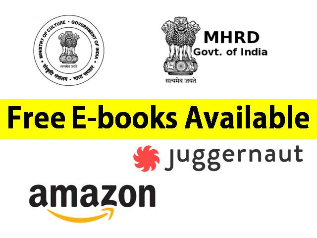 Free E-books available during COVID lockdown