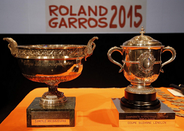 french open trophy
