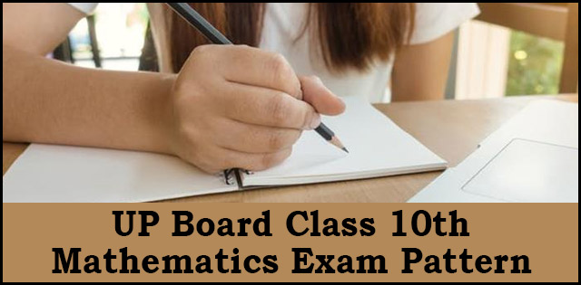 Maths Board Examination Pattern