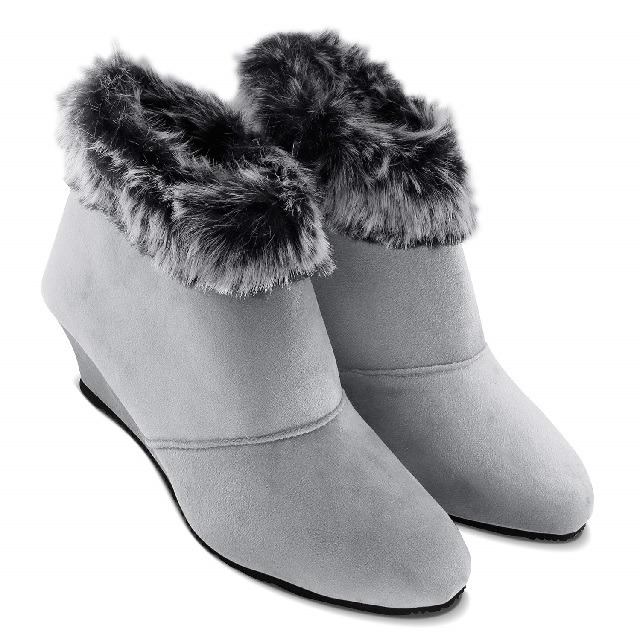 Fur winter boot