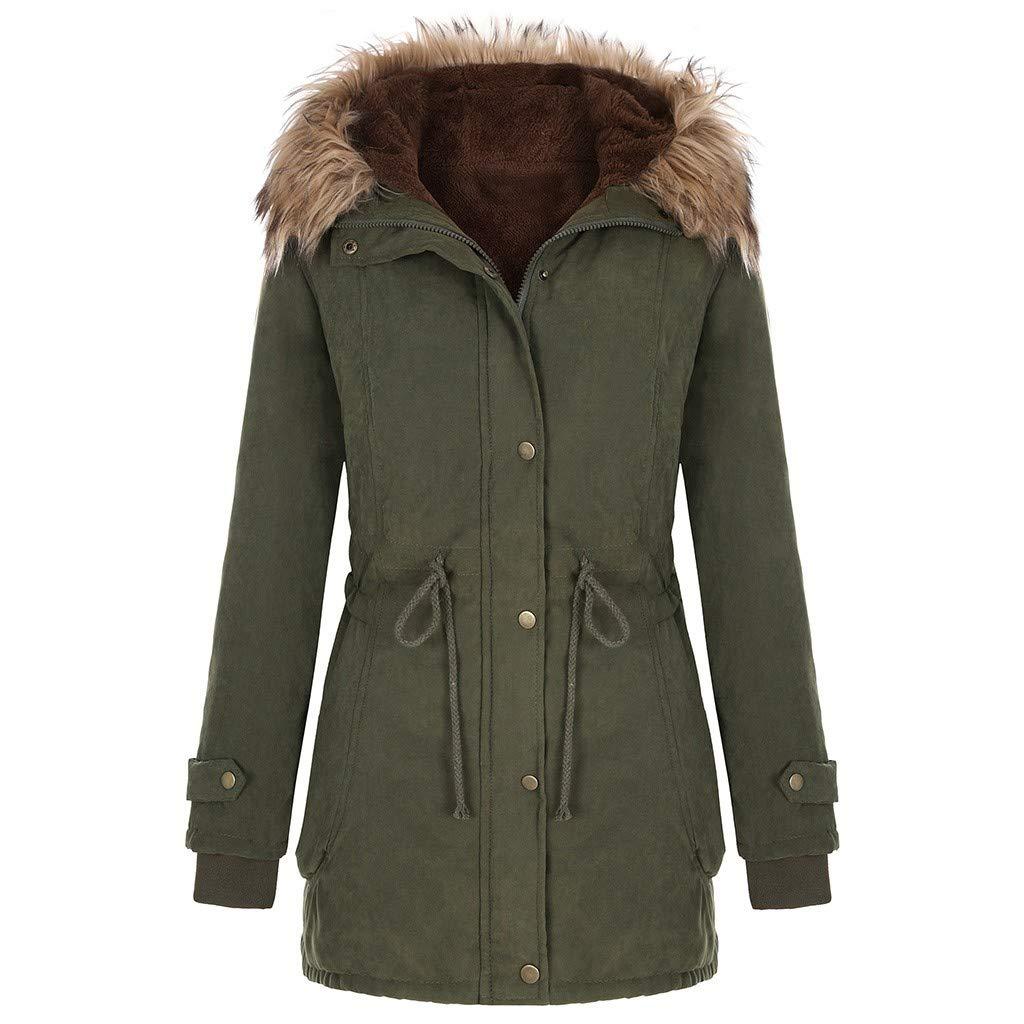 Fur Green Jacket