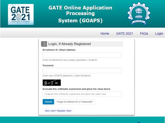 GATE 2021 Answer Key